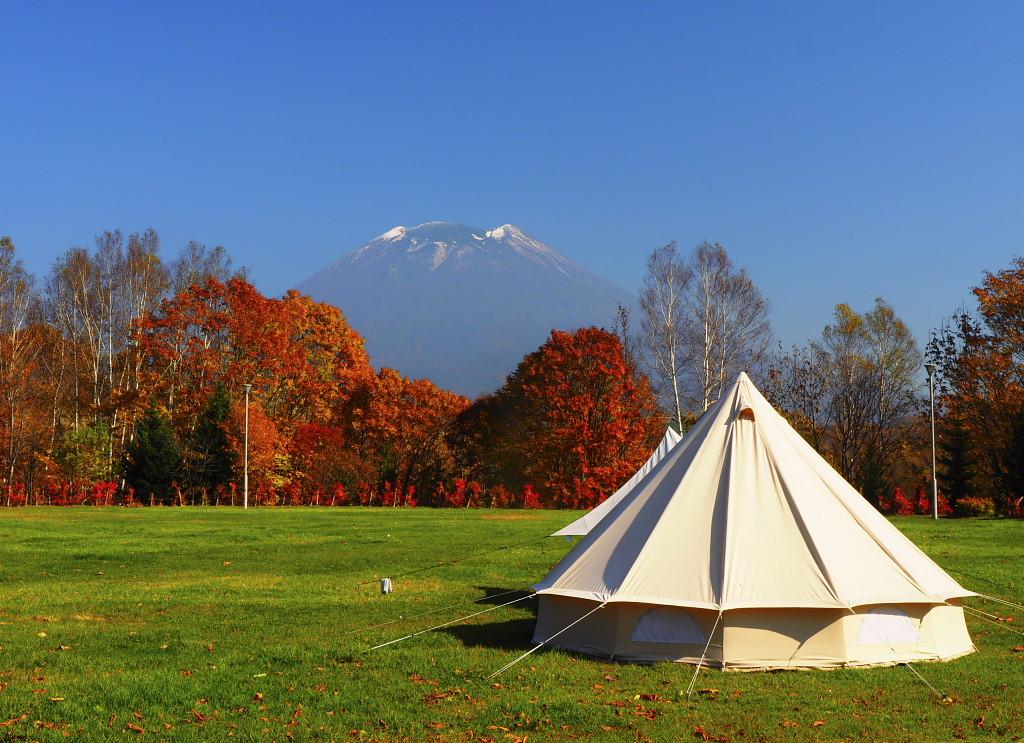 2015年 秋の羊蹄山
