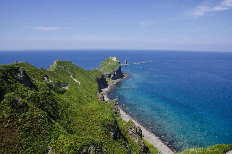 なつの神威岬